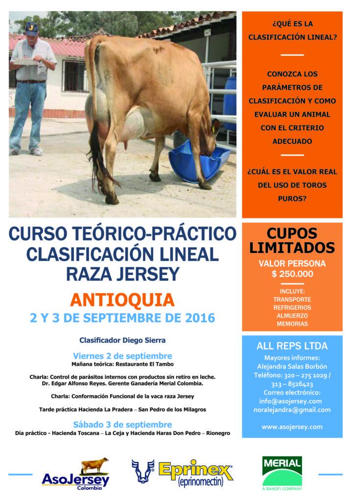 ANTIOQUIA_AFICHE CURSO CLASIFICACION ASOJERSEY 2016